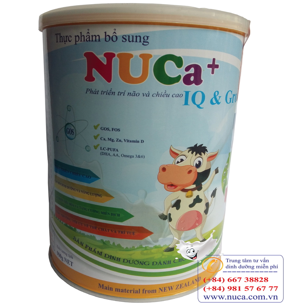 NUCa+ IQ & GROW (900gr)